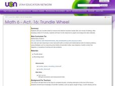 Trundle Wheel Lesson Plan
