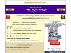 Worksheets Trustworthiness Worksheets collection of trustworthiness worksheets sharebrowse 4th 8th grade worksheet lesson planet