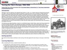 Turning the Tide in Europe, 1942-1944 Lesson Plan