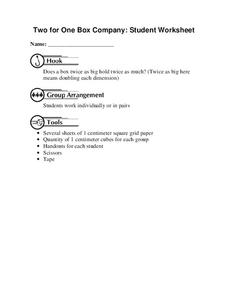Two for One Box Company Worksheet