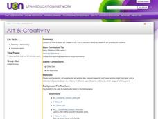 Art & Creativity Lesson Plan