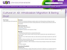 Athabaskan Migration & Bering Strait Lesson Plan