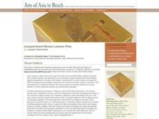 Arts of Asia in Reach Lesson Plan