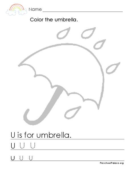 the white umbrella lesson plan