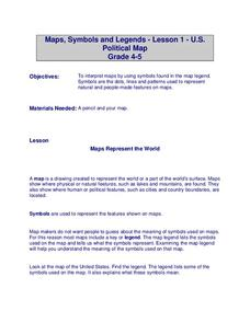 U.S. Political Map Lesson Plan