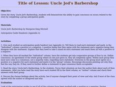 Uncle Jed's Barbershop Lesson Plan