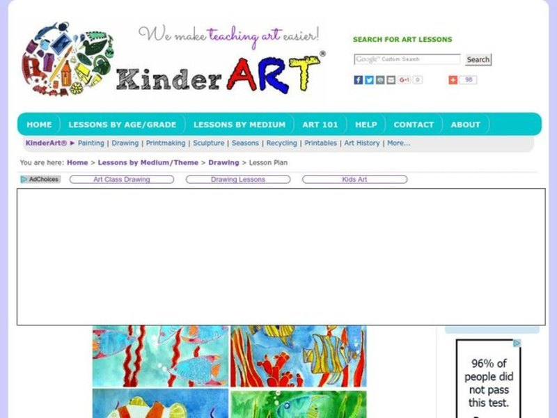 Under the Sea Lesson Plan