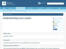 Understanding Lava Layers Lesson Plan