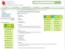 Understanding Place Values Lesson Plan