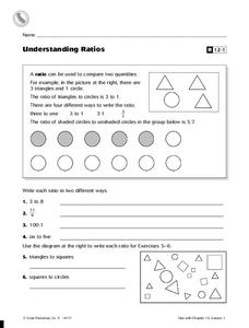 Understanding Ratios Worksheet