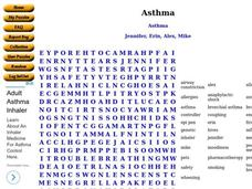 Asthma Worksheet