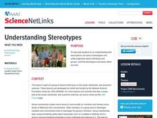 Understanding Stereotypes Lesson Plan