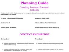 Understanding Technology Lesson Plan