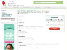 Understanding the Elements of Fiction Lesson Plan