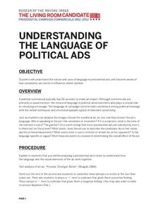 Understanding the Language of Political Ads Lesson Plan