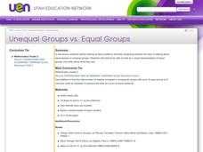 Unequal Groups vs. Equal Groups Lesson Plan