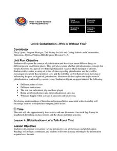 lesson plan about globalization Globalization mini-sim 3 mini-sim lesson plan 4 country research lesson  plan 5 frequently asked questions about model un 6 globalization placards.