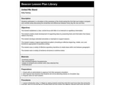 United We Stand Lesson Plan