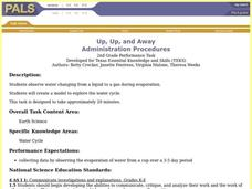 Up, Up, and Away Lesson Plan