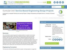Service-Based Engineering Design Project Unit