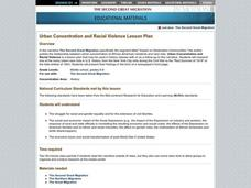 Urban Concentration And Racial Violence Lesson Plan