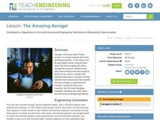 The Amazing Aerogel Lesson Plan