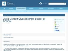 Using Context Clues Lesson Plan