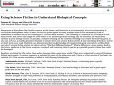 Using Science Fiction to Understand Biological Concepts Lesson Plan