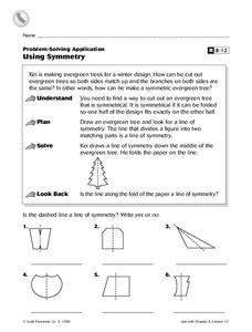 Using Symmetry Worksheet