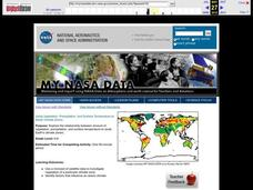 Using Vegetation, Precipitation, and Surface Temperature to Study Climate Zones Lesson Plan