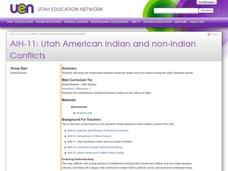 Utah American Indian and non-Indian Conflicts Lesson Plan