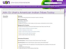 Utah's American Indian Tribes Today Lesson Plan