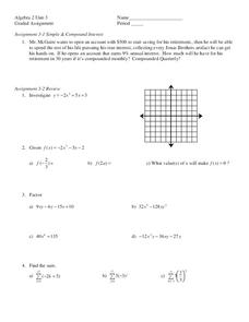 Variable Exponents Worksheet