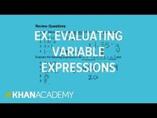 Variable Expressions Lesson Plan