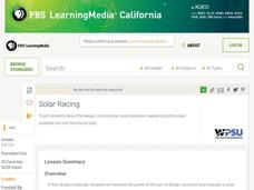 Solar Racing Lesson Plan