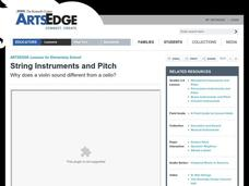 String Instruments and Pitch Lesson Plan