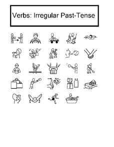 Verbs: Irregular Past-Tense Worksheet for 1st - 4th Grade ...