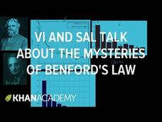 Vi and Sal Talk About the Mysteries of Benford's Law Video