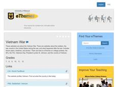 VIETNAM WAR Lesson Plan