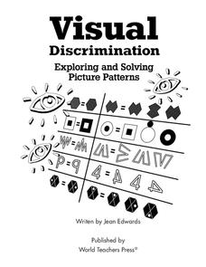 Visual Discrimination Worksheet