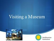 Visiting a Museum Presentation