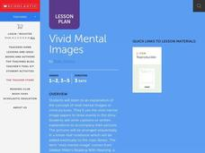 Vivid Mental Images Lesson Plan