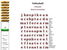 VOLLEYBALL Worksheet - Stephen M. White Middle School