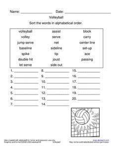 Volleyball Word Search by sfy773 - Teaching Resources - Tes