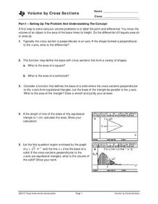 Cross Sections Worksheet Worksheets for all | Download and Share ...