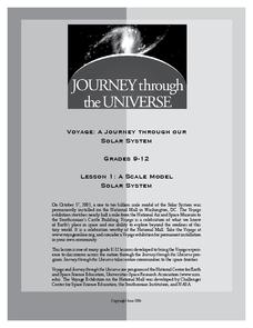 Voyage: A Journey Through Our Solar System Lesson Plan