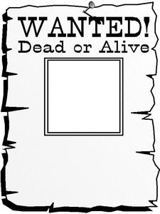 Wanted Worksheet