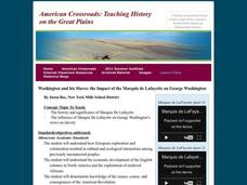 Washington and his Slaves: the Impact of the Marquis de Lafayette on George Washington Lesson Plan