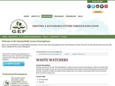 Waste Watchers Lesson Plan