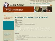 Water Uses and Children's Lives in East Africa Lesson Plan
